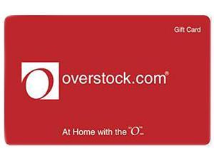 Overstock $25 Gift Card (Email Delivery)