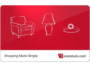 Overstock $100 Gift Card (Email Delivery)