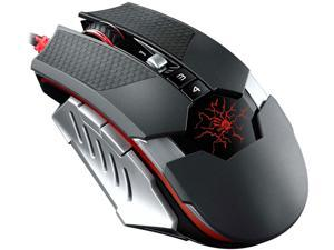 Bloody by A4tech T50A Infrared Micro Switch Gaming Mouse with Metal X'Glide 4000CPI