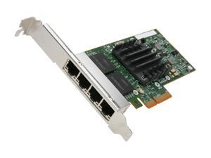 Intel E1G44HT 10/100/1000Mbps PCI-Express 2.0 Server Adapter I340-T4