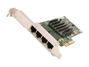 Intel E1G44HTBLK 10/100/1000Mbps PCI-Express 2.0 Server Adapter I340-T4 (Bulk Pack)