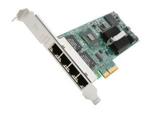 Intel E1G44ET2 10/100/1000Mbps PCI-Express Gigabit Ethernet Card