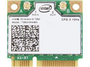 Intel 7260HMW BN IEEE 802.11 N300 Mini PCI Express plus Bluetooth 4.0 - Wi-Fi/Bluetooth Combo Adapter - OEM