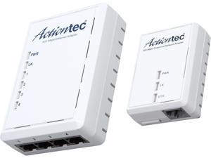 Actiontec PWR514K01 Powerline AV500 4-Port Hub Kit, up to 500Mbps