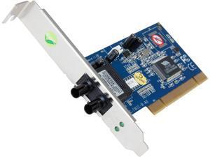 StarTech PCI100MMST 100Mbps PCI Multi Mode ST Fiber Ethernet NIC Network Adapter 2km