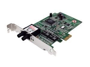 StarTech PEX1000MMST 1000Mbps PCI-Express x1 Gigabit Ethernet Multi Mode ST Fiber Card