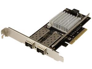 StarTech.com 2-Port 10G Fiber Network Card with Open SFP+ - PCIe, Intel Chip