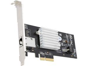 STARTECH ST10000SPEXI 1-Port 10G Ethernet Network Card - PCI Express - 10GbE NIC with Intel X550-AT  Chip - 10GBase-T / NBASE-T Compliant