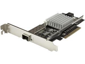 STARTECH PEX10000SFPI 1-Port 10G Open SFP+ Network Card - PCIe - Intel Chip - MM/SM - PCI Express 10G NIC w/ Open SFP+ - 10G Ethernet network card