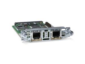 Cisco VWIC2-1MFT-T1/E1 2nd Generation 1-Port T1/E1 Multiflex Trunk Voice/WAN Interface Card