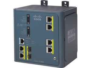 CISCO IE-3000-4TC Managed Industrial Ethernet Switch