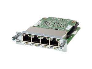 Cisco EHWIC-4ESG= 4-Port Gigabit Ethernet Enhanced High-Speed WAN Interface Card