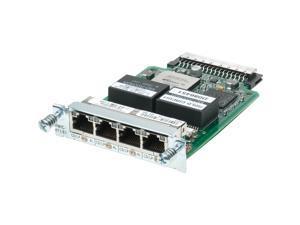 CISCO HWIC-4T1/E1= 4-Port T1/E1 Clear Channel High-Speed WAN Interface Card