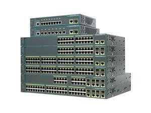 CISCO Catalyst 2960 WS-C2960-24TT-L-RF Managed 10/100Mbps + 1000Mbps Ethernet Switch