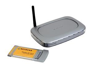 NETGEAR WGB511 54 Mbps Wireless Router(WGR614) and PC Card(WG511) Kit IEEE 802.11b/g