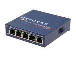NETGEAR ProSafe FS105NAR Business-Class Desktop Switch
