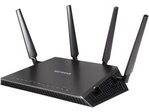 NETGEAR R7800 Nighthawk X4S AC2600 Smart WiFi MU-MIMO Gigabit Router with additional 5 GHz DFS channels