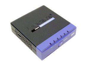 LINKSYS PSUS4 PrintServer for USB with 4 port Switch