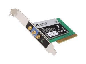 Linksys WMP300N 32-bit PCI Interface High-speed Wireless-N Wireless Adapter