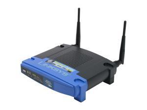 Linksys WRT54GS Wireless-G Broadband Router with SpeedBooster