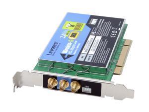 Linksys WMP54GX PCI Wireless-G Adapter with SRX