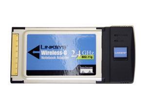 LINKSYS WPC54G-WB 32-bit Cardbus Wireless-G Notebook Adapter (white box)