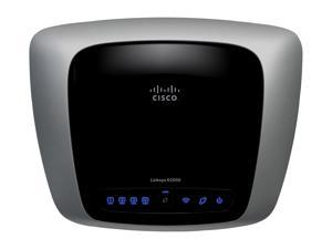 Linksys E2000 802.11a/b/g/n 2.4/5GHz Selectable Dual Band Gigabit Wireless Router up to 300Mbps