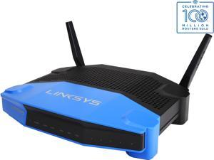 Linksys WRT1200AC Wireless AC1200 Dual-Band and Wi-Fi Wireless Router with Gigabit and USB 3.0 Ports and eSATA