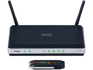 D-Link DKT-408 Wireless N300 Router and USB Adapter Kit