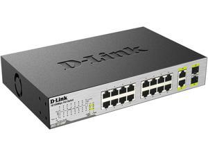 D-Link 18-Port Unmanaged Desktop PoE Switch