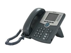 Cisco SPA 525G2 5-Line IP Phone with Color Display, PoE, 802.11g, Bluetooth, Mobile Link