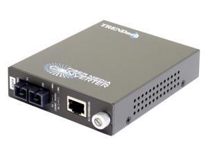TRENDnet TFC-110S60 Single-Mode Fiber Converter (60Km) with SC-Type Connector