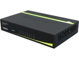 TRENDnet TEG-S80G Unmanaged 8-Port Gigabit GREENnet Switch. Limited Life Time Warranty
