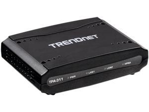 TRENDnet TPA-311 Mid-Band Coaxial Network Adapter
