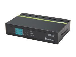 TRENDnet TPE-TG44G 8-Port Gigabit GREENnet PoE+ Switch. Limited Life Time Warranty