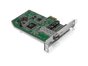 TRENDnet TEG-ECSFP (v2.0R) 1000Mbps PCI-Express 1000base Mini GBIC SFP Fiber Connection PCIe, PCI Express Adapter