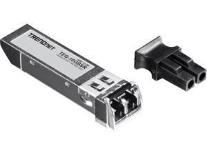 TRENDnet TEG-10GBSR 10Gbase-SR SFP+ Multi Mode LC Module 550 m (1,804 feet) with DDM