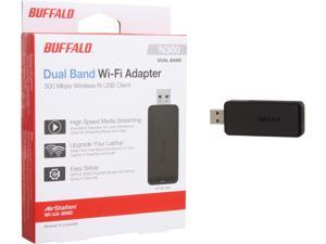 BUFFALO AirStation N300 Dual Band Wireless USB Adapter - WI-U2-300D