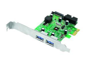 SIIG DP 4-Port USB 3.0 PCIe with 20pin Header Model JU-P40511-S1