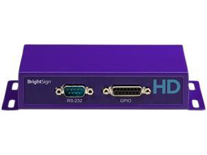 BrightSign Networked Interactive Model - Advanced Interactivity, Live Media Feeds HD1020