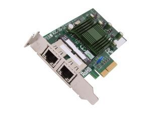 Supermicro AOC-SG-i2 10/100/1000Mbps PCI-Express High-performance, Cost-effective Dual-port Gigabit Ethernet Card