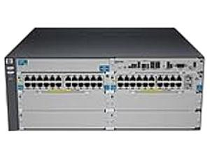 HP J9533A#ABA Managed 5406-44G-PoE+-2XG v2 zl Switch with Premium Software