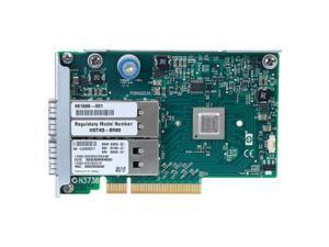 HP InfiniBand FDR/EN 10/40Gb Dual Port 544FLR-QSFP Adapter