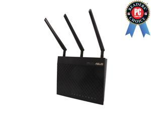 ASUS RT-AC66U IEEE 802.11ac, IEEE 802.11a/b/g/n, IEEE 802.3/3u/3ab Dual-Band Wireless-AC1750 Gigabit Router