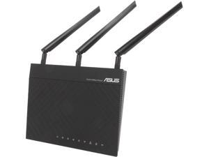 ASUS RT-N66R Dual-Band Wireless-N900 Gigabit Router, DD-WRT Open Source Support - Certified Refurbished