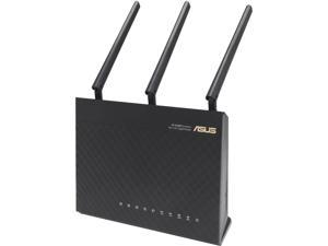 ASUS RT-AC68R Wireless-AC1900 Dual-band Gigabit Router Factory Refurbished