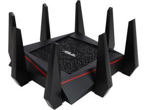 ASUS RT-AC5300 Wireless AC5300 Tri-Band MU-MIMO Gigabit Router, AiProtection with Trend Micro for Complete Network Security