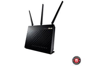ASUS RT-AC68R Wireless-AC1900 Dual Band Gigabit Router IEEE 802.11ac, IEEE 802.11a/b/g/n AiProtection with Trend Micro for Complete Network Security