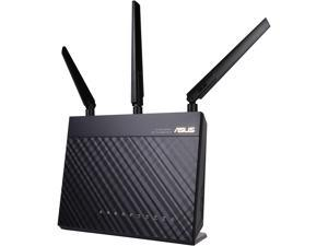 ASUS RT-AC68P Wireless-AC1900 Dual Band Gigabit Router IEEE 802.11ac, IEEE 802.11a/b/g/n AiProtection with Trend Micro for Complete Network Security