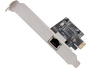 SYBA SI-PEX24035 PCI-Express x1 Gigabit Ethernet Network LAN PCI-Express Card